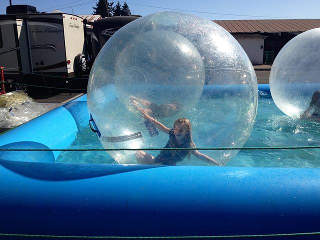 bubliny na vodu