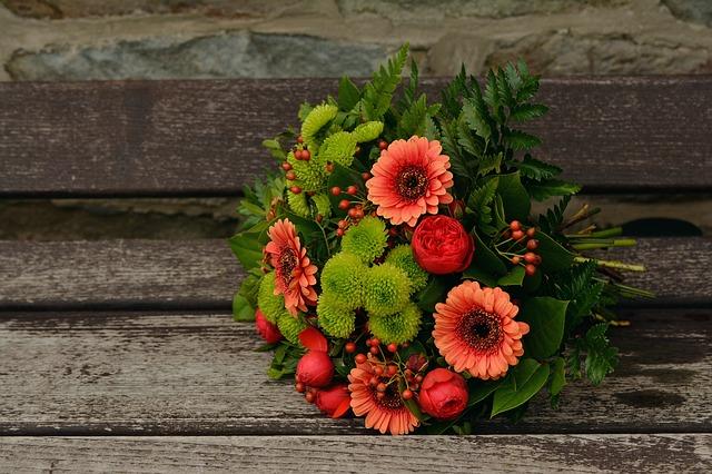 podzimní květiny