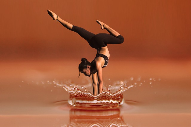 jóga na vodě