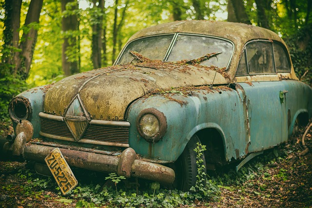 Starý vůz