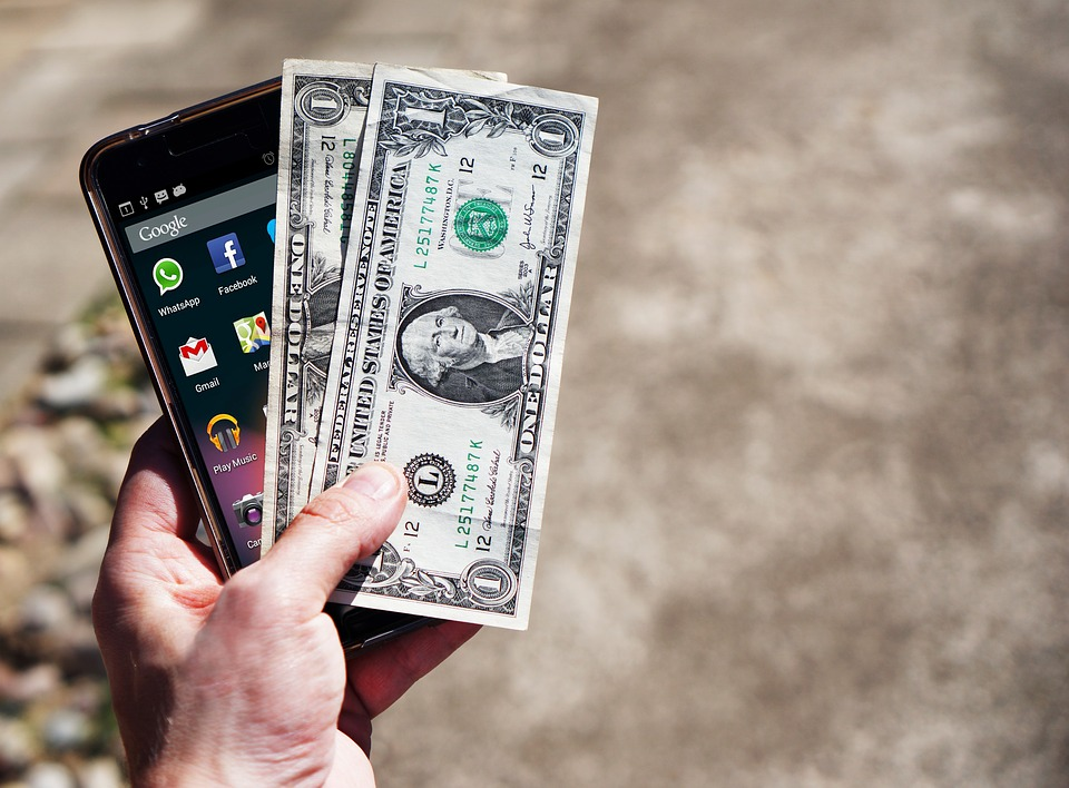 mobil a dolary