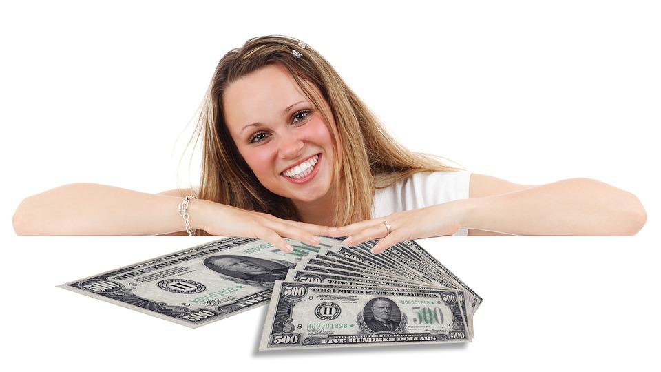slečna s dolary
